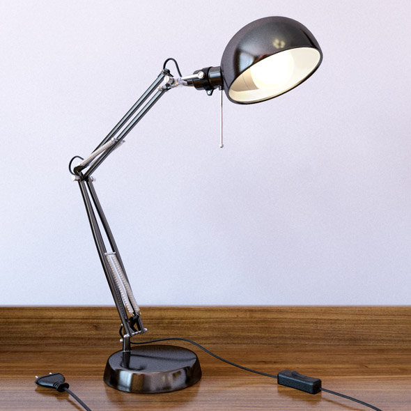 Ikea Forsa work lamp - 3DOcean Item for Sale