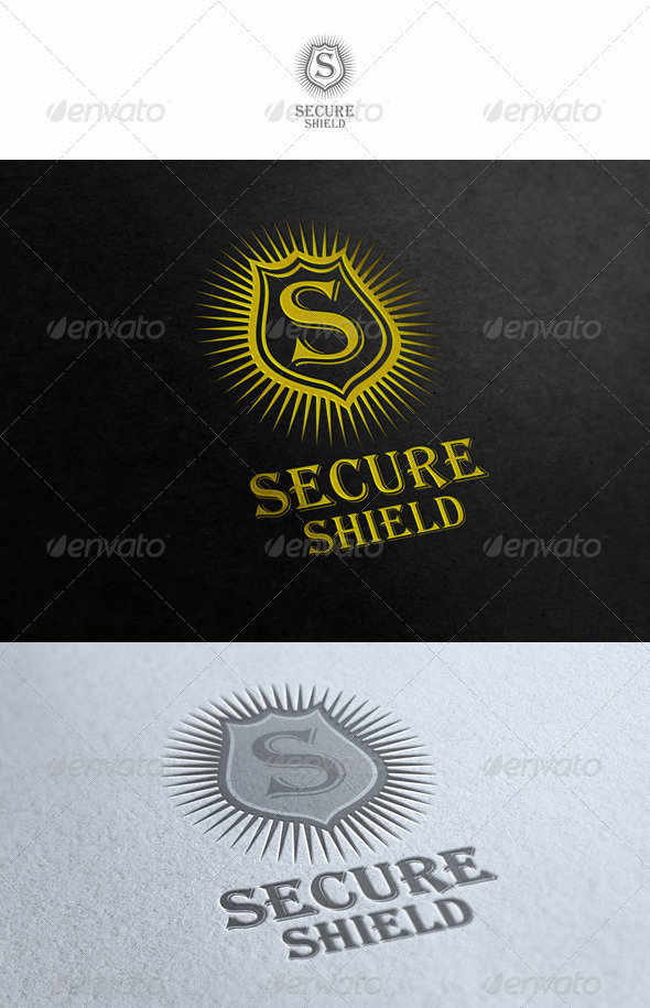 Secure Shield - Crests Logo Templates