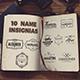 10 Name Insignias