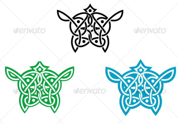 Celtic ornament for design