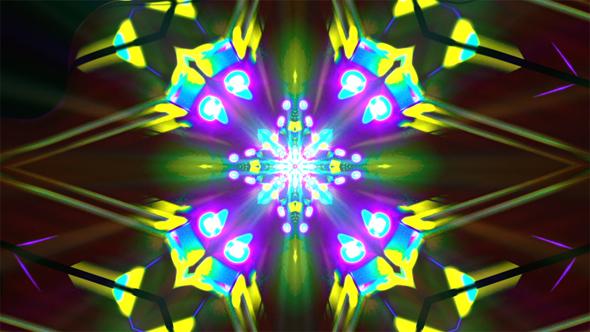 VJ Kaleidoscope - Abstract Taustat Motion Graphics