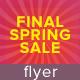 Final Spring Sale Flyer