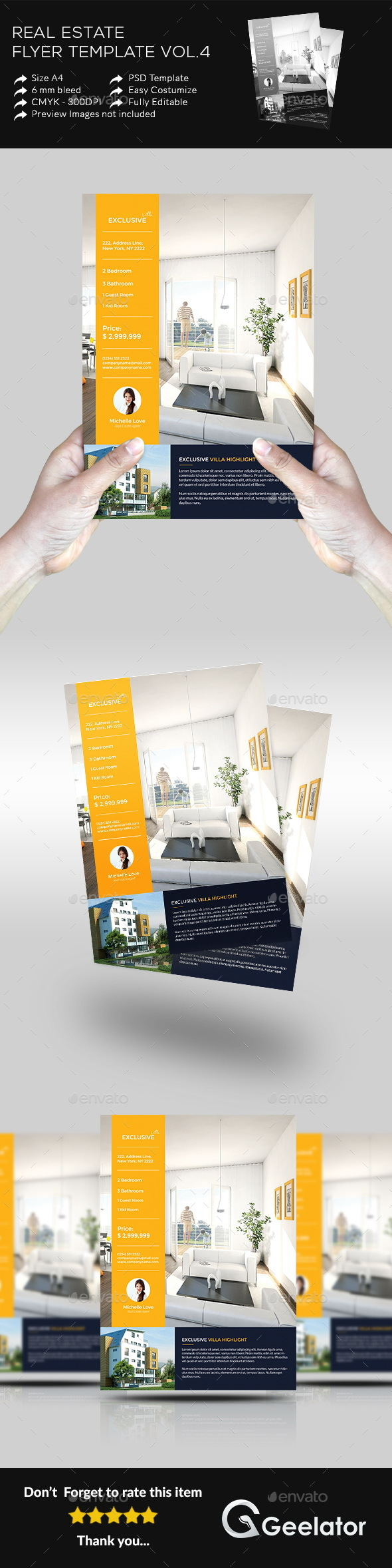 Real Estate Flyer Template Vol.4