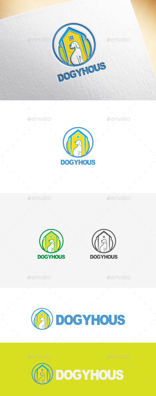 Dogyhous Logo Template