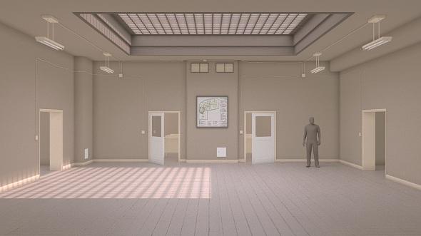 School interior - 3DOcean Item for Sale