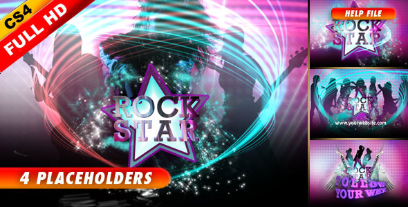 After Effects Project - VideoHive Super Star 1502612