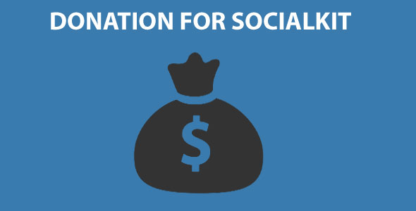 Download Donation for Socialkit nulled download
