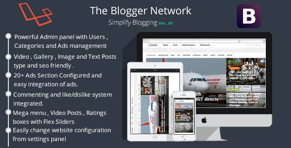Download Blogify-The Blog Manager nulled download