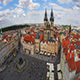 View of Prague, Old Town Square, Czech Republic