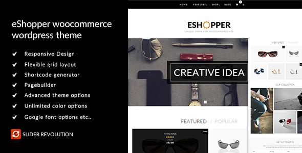 eShopper - WooCommerce WordPress Theme