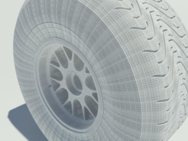 Pirelli intermediate tyre - 3DOcean Item for Sale