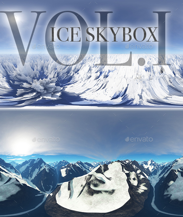 Ice Skybox Pack Vol.I - 3DOcean Item for Sale