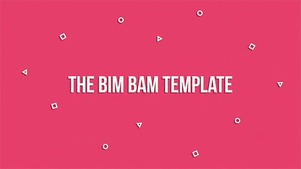 BIM Bam Template - Corporate osastot After Effects Project Files