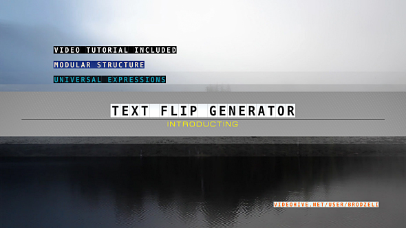 Download Text Flip Generator nulled download