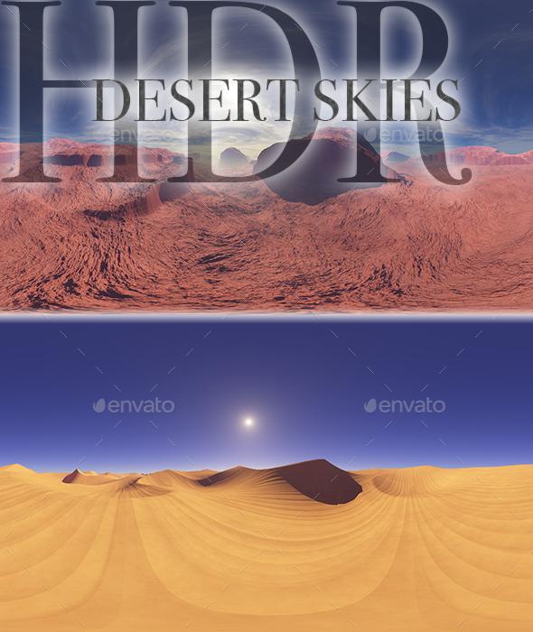 HDR Desert Skies - 3DOcean Item for Sale