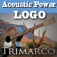 Acoustic Power Guitar Logo