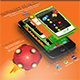 Speed Ball - iOS - Android - iAP + ADMOB + Leaderboards