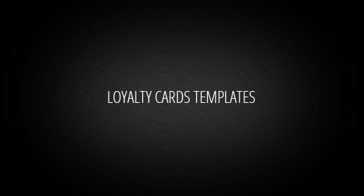 Loyalty Cards Templates
