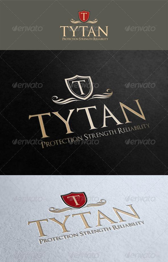 Tytan Logo Template - Crests Logo Templates