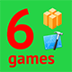 6 Amazing BuildBox Game Templates (Bundle 3): iOS; Easy Reskin; AdMob & Chartboost Ads (Games) Download