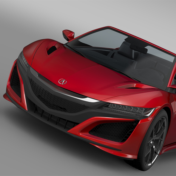 Acura NSX Cabriolet 2017 - 3DOcean Item for Sale