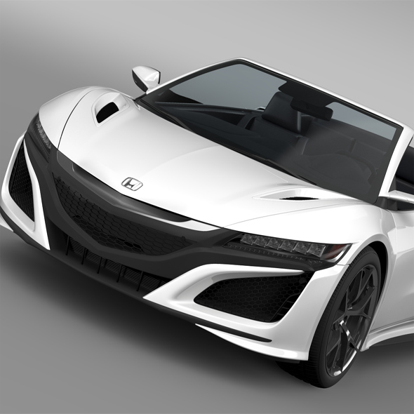 Honda NSX Cabriolet 2017 - 3DOcean Item for Sale