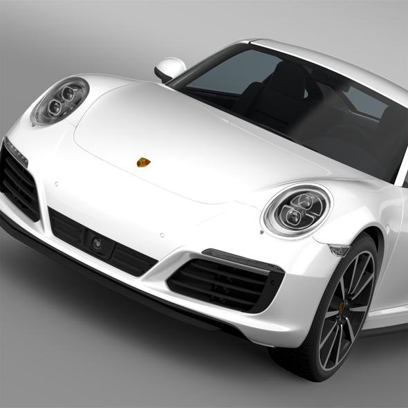 3DOcean Porsche 911 Carrera 4S Coupe 991 2016 16046632