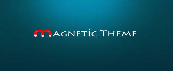 Magnetic hello logo