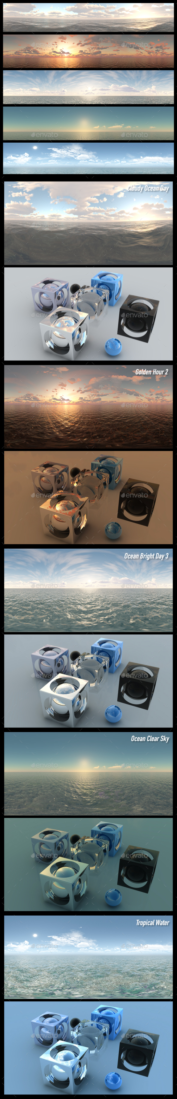 HDRI Pack 7 - 3DOcean Item for Sale