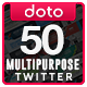 Multipurpose Twitter Headers - 50 Designs