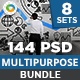 Multipurpose Banners Bundle - 7 Sets - 144 Banners