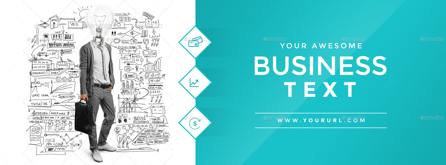Book Cover Photography Business ~ Business facebook cover by doto graphicriver