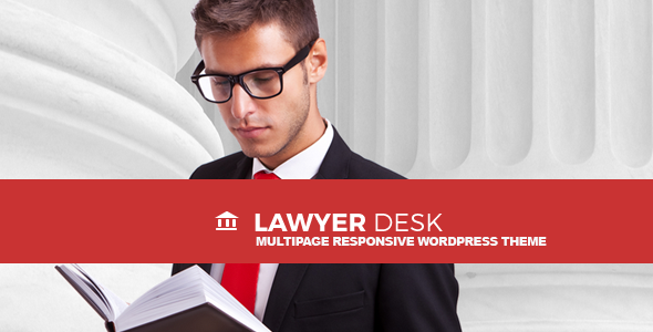 Download LawyerDesk - Multipage Lawyer and Attorney Responsive Theme nulled download