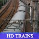 HD Train running toward camera - VideoHive Item for Sale