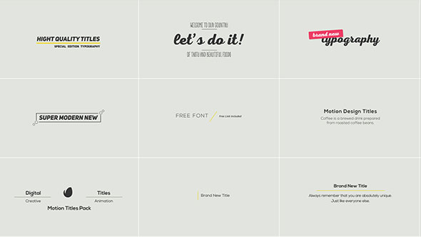 Download Clean Modern Titles nulled download