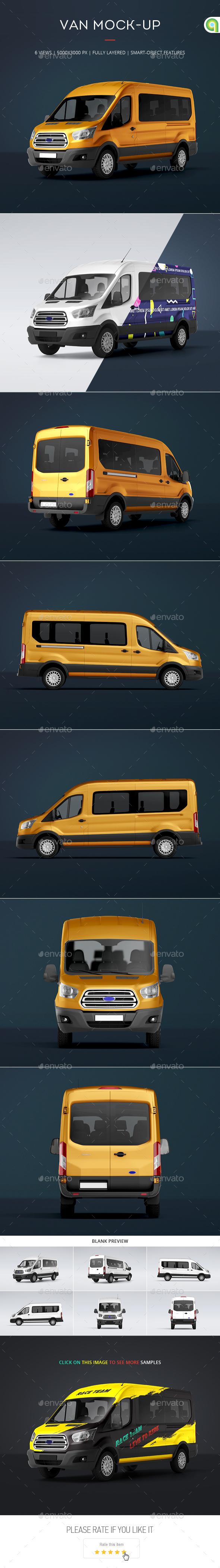 Passenger Van Mock-Up