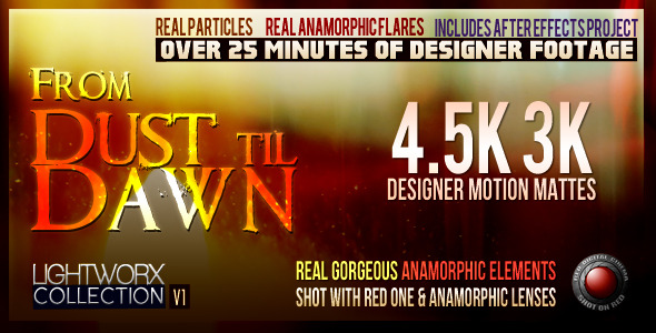 VideoHive FROM DUST til DAWN LightWorx Collection V1 1606765