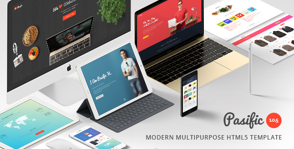 24. Pasific | Multipurpose HTML5 Template