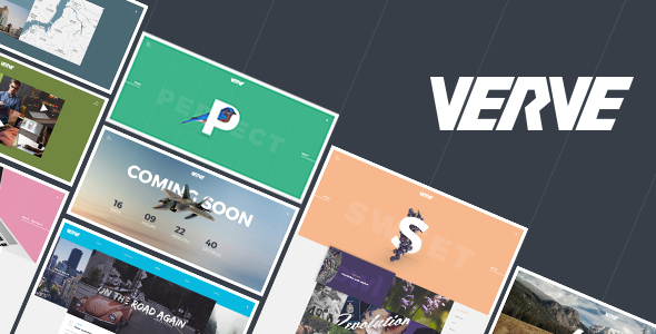 Verve - Agency & Portfolio Responsive HTML5 Template