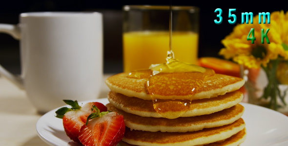 Download Breakfast, Pouring Syrup On Pancakes 13 nulled download