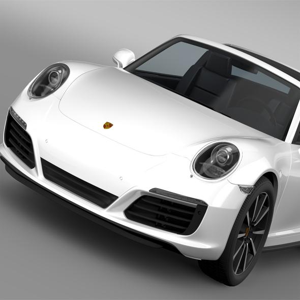 3DOcean Porsche 911 Targa 4S 991 2016 16063895