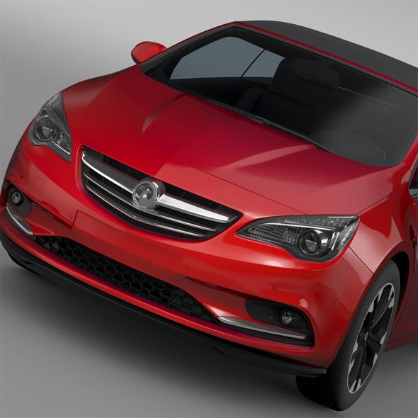 Vauxhall Cascada 2016 - 3DOcean Item for Sale