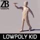 Lowpoly Kid 004
