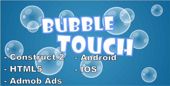 Bubble Touch - HTML5 Mobile Game