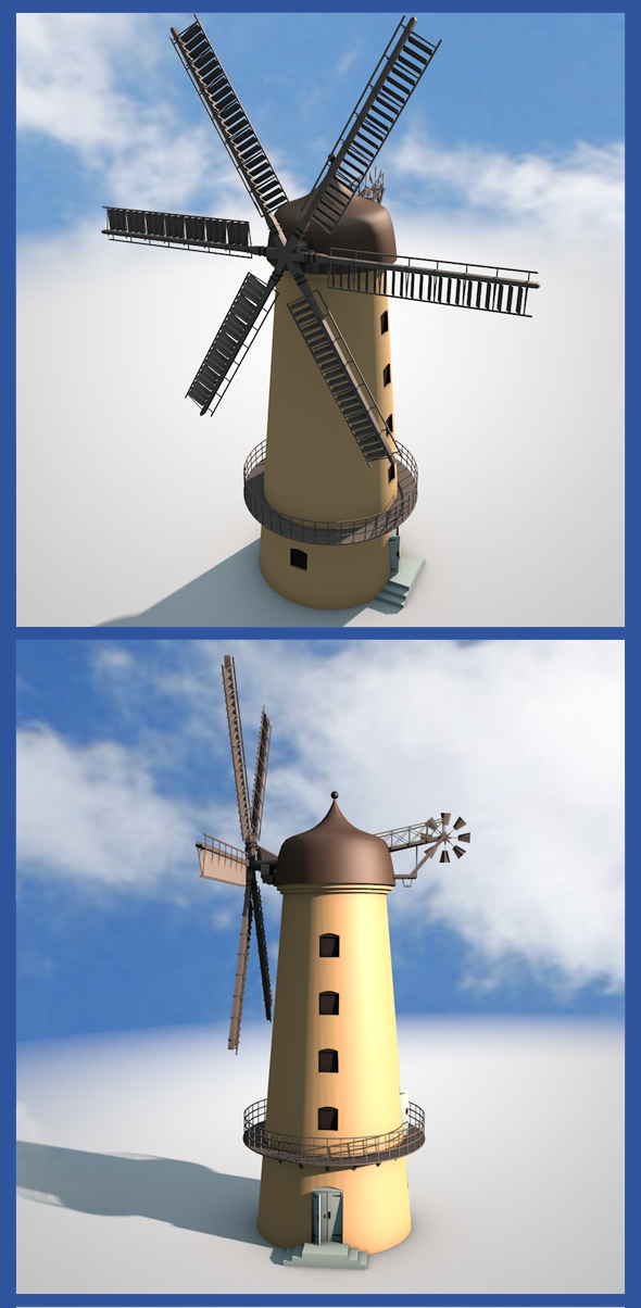 Windmill - 3DOcean Item for Sale