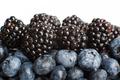 Healthy eating. Berries.
