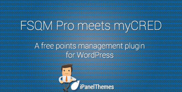 myCRED Integration for FSQM Pro - CodeCanyon Item for Sale