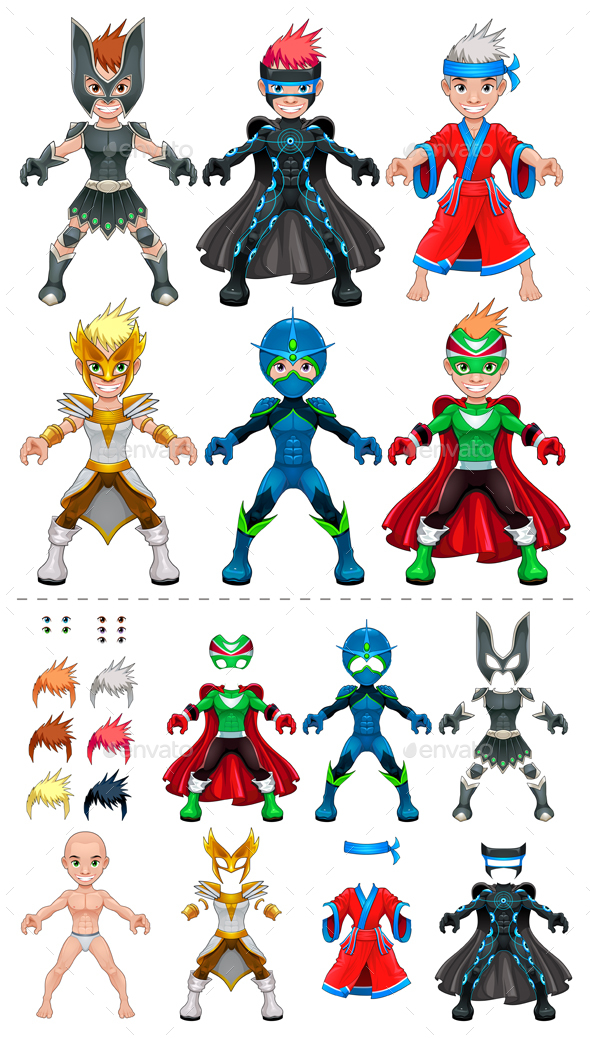 Avatar Superheroes