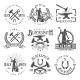 Blacksmith Graphic Vintage Emblems
