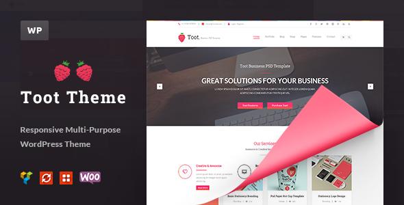 Toot – Multi-purpose Business WP Theme
